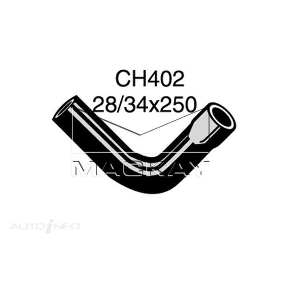 Radiator Upper Hose  - LAND ROVER SERIES 2A 88 - 2.3L I4  PETROL - Manual & Auto, , scaau_hi-res