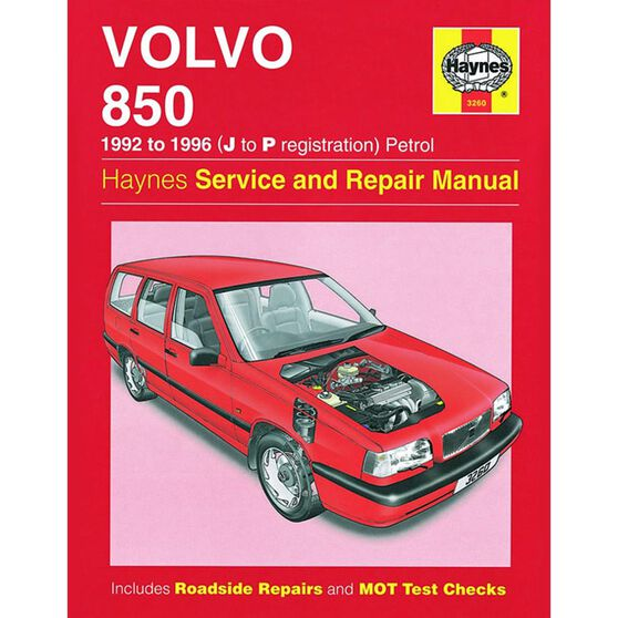 VOLVO 850 PETROL (92 - 96) J TO P, , scaau_hi-res