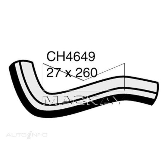 Radiator Upper Hose  - MITSUBISHI COLT RG - 1.5L I4  PETROL - Manual & Auto, , scaau_hi-res