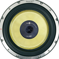 "12"" YELLOW SUBWOOFER , 283MM X 185MM, 550 WATTS, , scaau_hi-res"