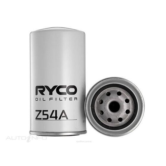 RYCO OIL FILTER - Z54A, , scaau_hi-res