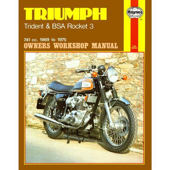 TRIUMPH TRIDENT & BSA ROCKET 3 1969 - 1975, , scaau_hi-res
