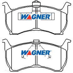 Wagner Brake pad [ Ford 1988-03 F ]