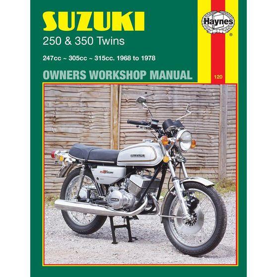 SUZUKI 250 & 350 TWINS 1968 - 1978, , scaau_hi-res