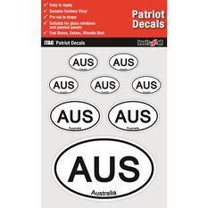 ITAG PATRIOT DECALS SHEET - AUSTRALIA