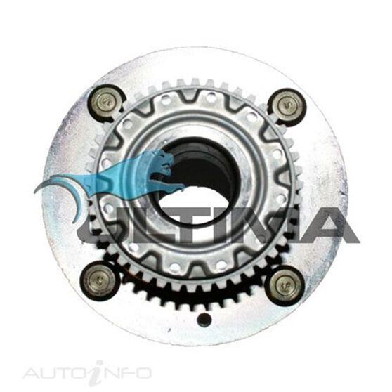 HUB ASSY (R) ELANTRA XD 10/02 - 02/07, CERATO 2004 ON 4 STUD W/ABS LHS/RHS, , scaau_hi-res
