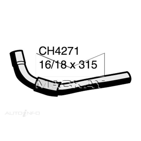 Heater Hose  - TOYOTA LANDCRUISER KZJ95R - 3.0L I4 Turbo DIESEL - Manual & Auto, , scaau_hi-res