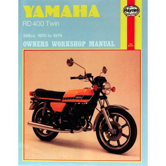YAMAHA RD400 TWIN 1975 - 1979, , scaau_hi-res