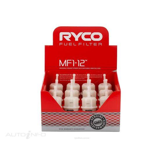 RYCO MULTI FIT FUEL FILTER - MF1-12, , scaau_hi-res