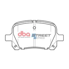 DBA SS STREET SERIES BRAKE PADS [ Lexus & Toyota 1996-2003 F ], , scaau_hi-res