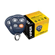 VIPER 211HV - KEYLESS ENTRY SYSTEM TWO 4 BUTTON ICON REMOTES
