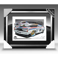 A3 SIZE - 1977 FORD XC FALCON GT ALLAN MOFFAT / JACKY ICKX (B015)