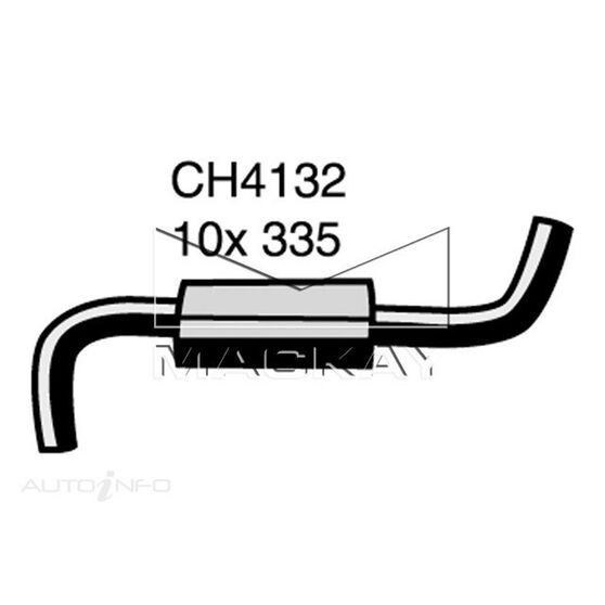 Engine By Pass Hose  - HOLDEN COMMODORE VL - 3.0L I6  PETROL - Manual & Auto, , scaau_hi-res