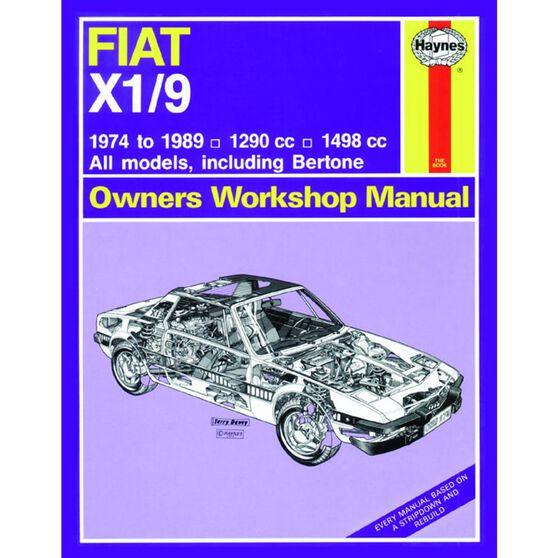 FIAT X1/9 (1974 - 1989), , scaau_hi-res