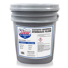 SYNTHETIC UNIVERSAL HYDRAULIC FLUID/1X1/5 GALLON PAIL, , scaau_hi-res
