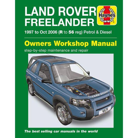 LAND ROVER FREELANDER (1997 - 2006), , scaau_hi-res
