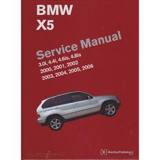 SERVMAN  BMW X5 (3.0I 4.4I 4.6IS& 4.8IS) 2000-2006   9780837616438, , scaau_hi-res