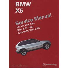 SERVMAN  BMW X5 (3.0I 4.4I 4.6IS& 4.8IS) 2000-2006   9780837616438