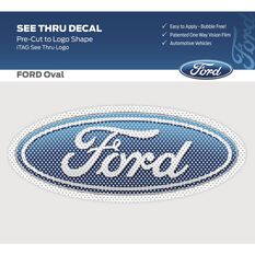 FORD ITAG  SEE-THRU LOGO DECAL (FULL COLOUR FORD LOGO), , scaau_hi-res