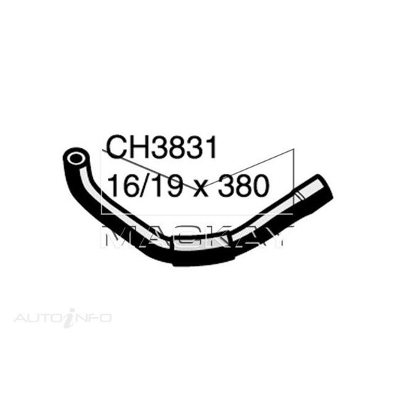 Heater Hose  - HOLDEN RODEO RA - 3.5L V6  PETROL - Manual & Auto, , scaau_hi-res