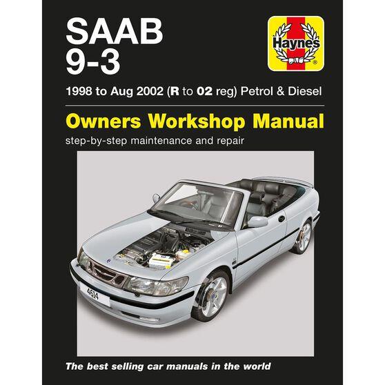 SAAB 9-3 PETROL & DIESEL (1998 - 2002), , scaau_hi-res