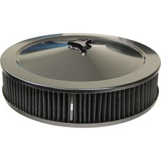 FILTER 14 X 3 RECESSED BASE ALL BLACK