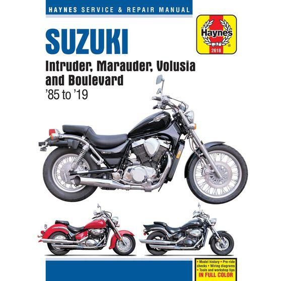 SUZUKI INTRUDER, MARAUDER, VOLUSIA & BOULEVARD 1985 - 2017, , scaau_hi-res