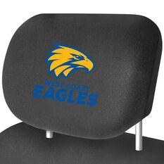AFL CAR HEAD REST COVER - PAIR EAGLES, , scaau_hi-res