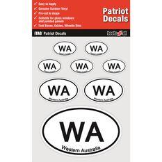 ITAG PATRIOT DECALS SHEET - WESTERN AUSTRALIA, , scaau_hi-res