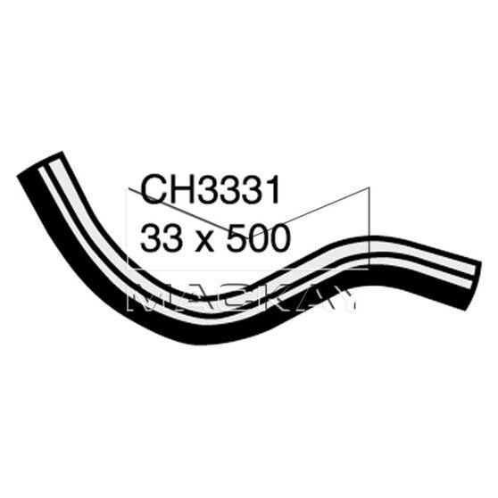 Radiator Upper Hose  - TOYOTA LITEACE YM35R - 1.8L I4  PETROL - Manual & Auto, , scaau_hi-res