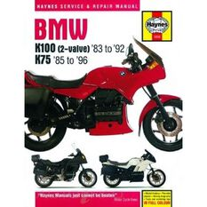 BMW K100 AND 75 2-VALVE MODELS 1983 - 1996, , scaau_hi-res