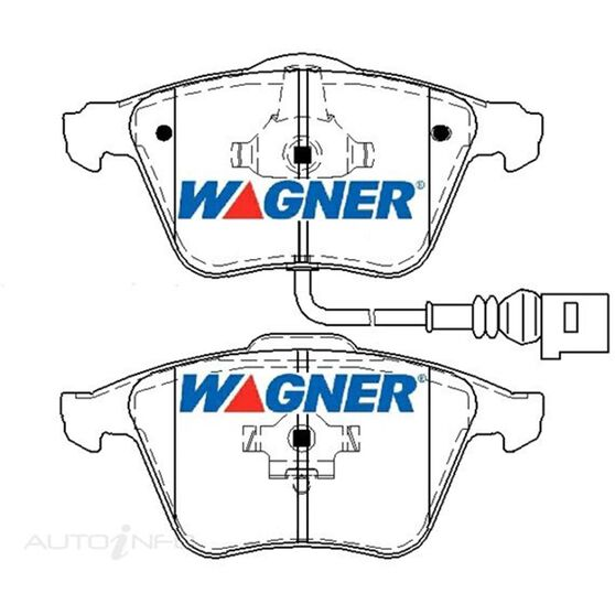 Wagner Brake pad [ Audi 2005 - on F ], , scaau_hi-res