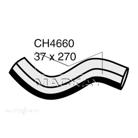 Radiator Lower Hose  - TOYOTA HIACE KDH200R - 2.5L I4 Turbo DIESEL - Manual & Auto, , scaau_hi-res