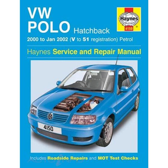 VW POLO HATCHBACK PETROL (2000 - 2002), , scaau_hi-res