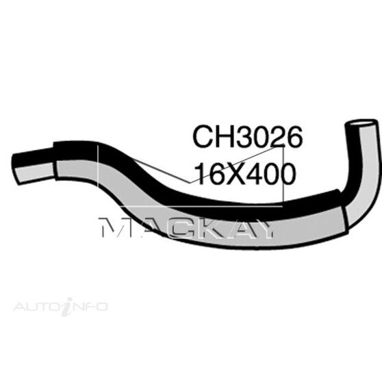 Heater Hose  - MAZDA 323 BJ - 1.8L I4  PETROL - Manual & Auto, , scaau_hi-res