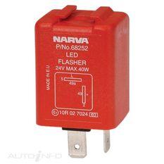 ELEC FLASHER 24V 2 PIN LED BL, , scaau_hi-res