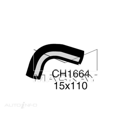 Heater Hose  - FORD FALCON XF - 4.1L I6  PETROL - Manual & Auto, , scaau_hi-res