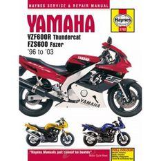 YAMAHA YZF600R THUNDERCAT & FZS600 FAZER 1996 - 2003, , scaau_hi-res