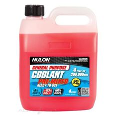 3 X GENERAL PURPOSE COOLANT PREMIX RED 4L