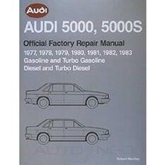 REPMAN  AUDI 5000  5000S (GAS& TURBGAS  DIES&TURBDIES) 1977-1983 9780837603520, , scaau_hi-res