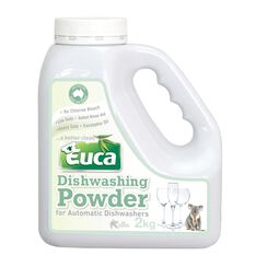 6 X EUCA DISHWASHING POWDER 2KG
