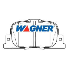 Wagner Brake pad [ Toyota 1998 - 2005 R ]
