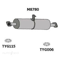 TY DYNA BU60,61 REAR MUFFLER