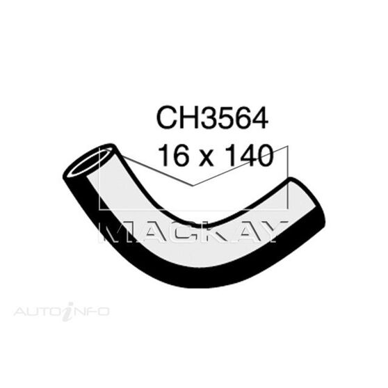 Heater Hose  - TOYOTA CRESSIDA MX83R - 3.0L I6  PETROL - Manual & Auto, , scaau_hi-res