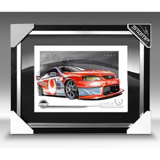 A3 SIZE - 2007 FORD BF FALCON LOWNDES / WHINCUP (B037), , scaau_hi-res
