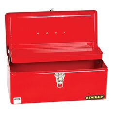 TOOL BOX SINGLE COMPARTMENT WITH CANTILEVER TRAY MEDIUM, , scaau_hi-res