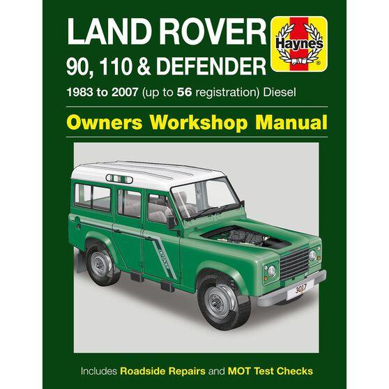 LAND ROVER 90, 110 & DEFENDER DIESEL (1983 -2007), , scaau_hi-res