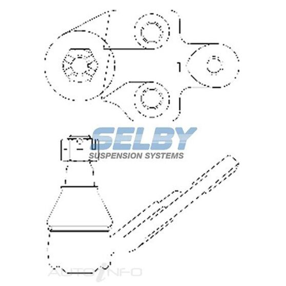 SELBY BJ (F) LWR LH LEXUS ES300 02-03, ES330 04-06, RX330 04-06, RX350 07-08, RX400H 06-07, , scaau_hi-res