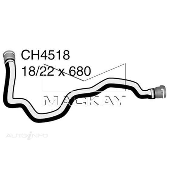 ByPass Hose BMW 520i   E39 M52,B25,B28,M51D25 additional water pump side to engine (9/98-01)*