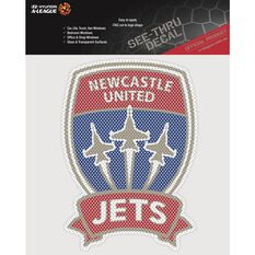 NEWCASTLE JETS ITAG SEE THRU DECAL